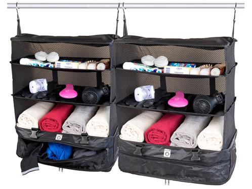 Pack de 2 organisateurs de valise & penderie - Version XXL