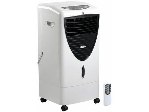rafraichisseur d'air a evaporation avec filtre a poussiere et à germes et ioniseur lw350 sichler