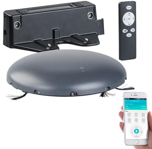 aspirateur robot automatique et connect avec filtre hepa. Black Bedroom Furniture Sets. Home Design Ideas