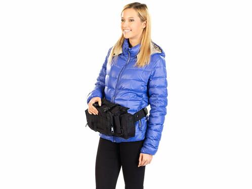 Sacoche 3 en 1 : portage épaule, main ou taille