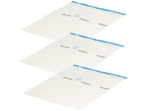 Sacs de rangement sous vide pour textiles (x3), 60 x 80 cm