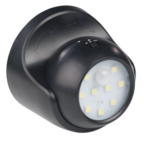 Spot led sans fil orientable 360 avec capteurs obscurit mouvement for Spot led pour noel