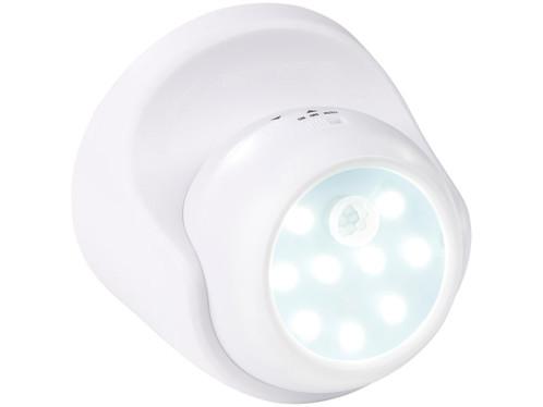 Spot LED sans fil 2 W / 100 lm / 360° avec capteurs de mouvement et d'obscurité