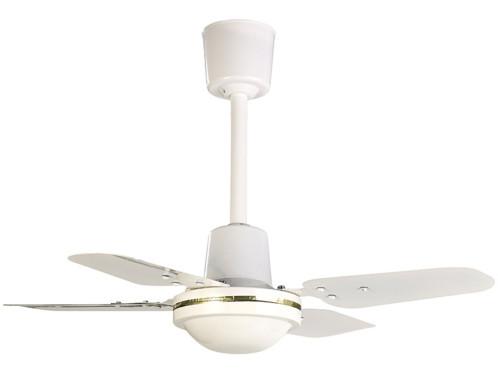 ventilateur de plafond 61 cm VT-220 double sens pour été et hiver avec telecommande murale sichler