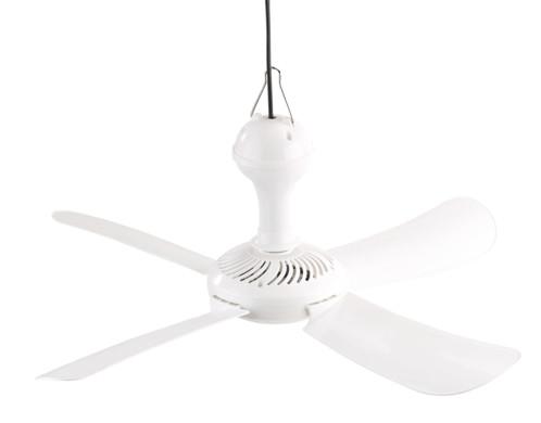 ventilateur suspendu 4 pales 54 cm 15w sichler vt-151