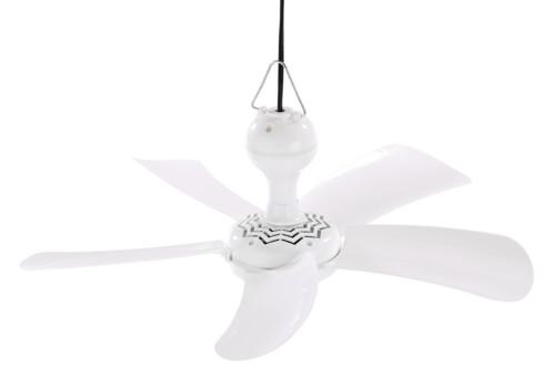 ventilateur de plafond 5 pales 41cm 9w sichler vt-414