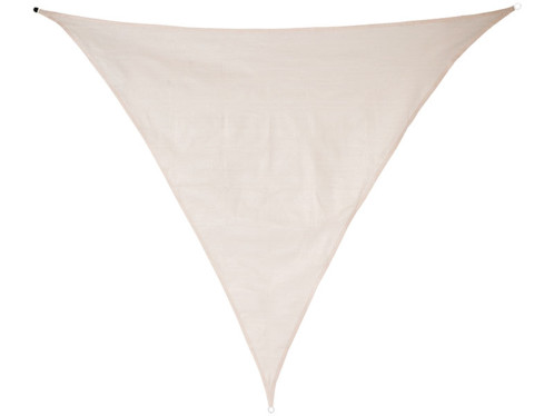 Voile d'ombrage triangulaire - 3 x 3 x 4,25 m - Taupe