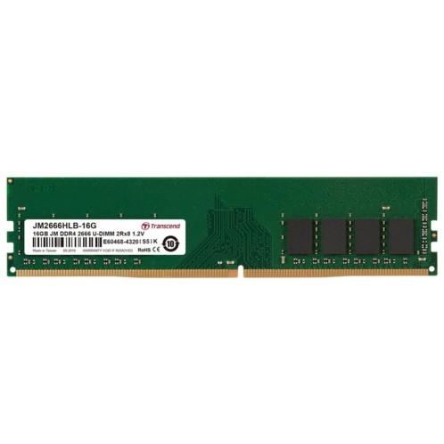 Barrette de mémoire Transcend DDR4 avec 8 Go de mémoire.