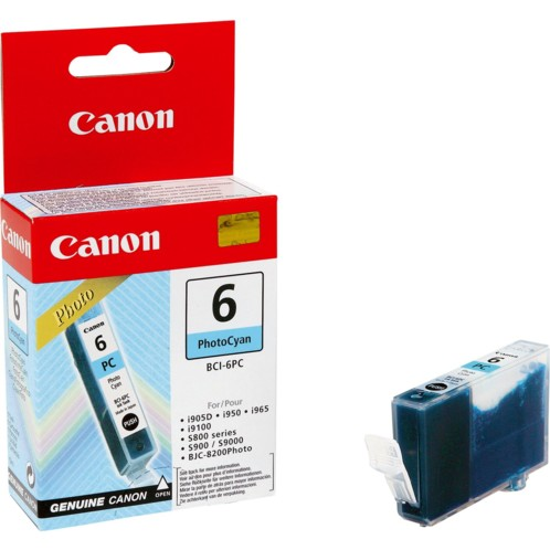 Cartouche originale Canon ''Bci6PC'' Photo - Cyan