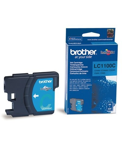 Cartouche originale Brother LC1100C - Cyan
