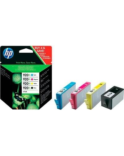 Cartouches originales HP N°920 XL C2N92A - Pack