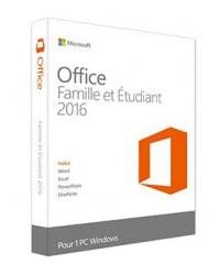 Microsoft Office 2016 Famille et Étudiants