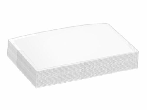 25 Pochettes de plastification - 95 x 60 mm / 125 Mic