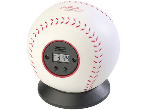Réveil à lancer ''Baseball''