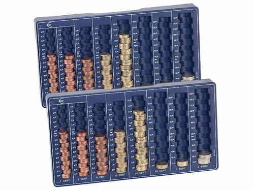 Plateau de tri pour pièces de monnaie