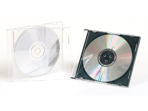 Boîtiers CD Extra-slim pour CD (x10)