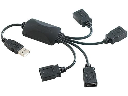 Hub Pieuvre 4 ports USB 2.0