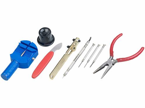 Kit de 9 outils d'horlogerie