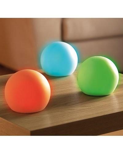 Boule lumineuse à LED multicolores