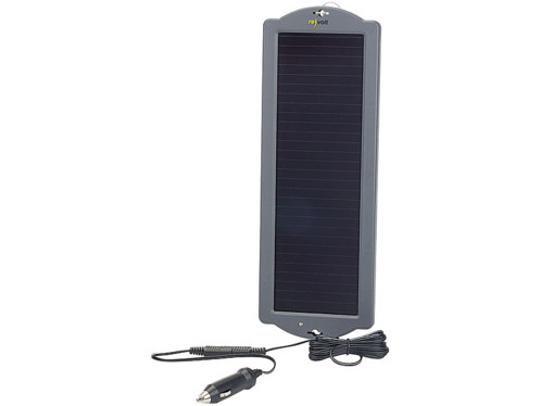 chargeur solaire pour maintien tension de batterie 12v automobile. Black Bedroom Furniture Sets. Home Design Ideas