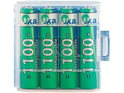 4 accus AAA TKA Nimh - 1100 mAh