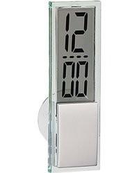 Achat horloge lcd avec ventouse - Horloge de salle de bain ventouse ...
