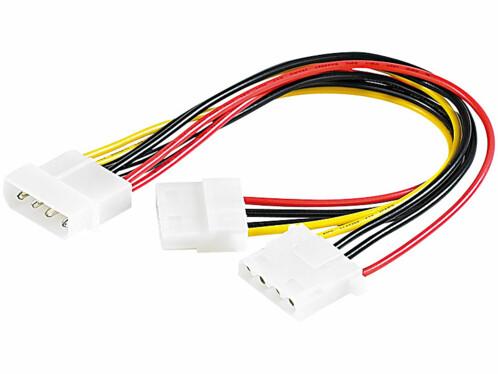 Câble d'alimentation en Y - 0,20m
