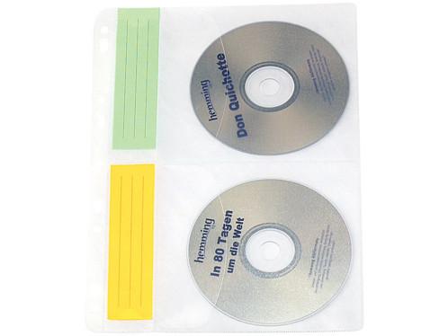 Pochettes à CD / DVD pour classeur - 40 CD