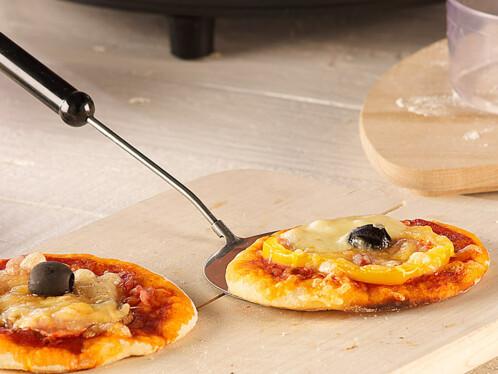 Four à pizza avec couvercle en terre cuite - 4 personnes
