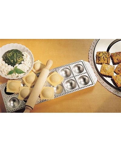 Moule à raviolis ''Chef'' avec rouleau à pâte