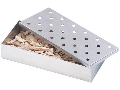 Boîte fumoir pour barbecue à gaz ou à charbon
