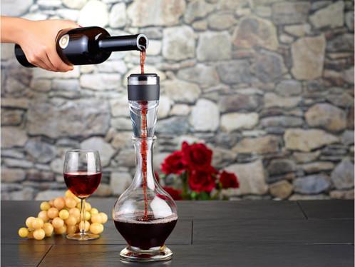 d canteur vin a rateur vin pour bouteille a re le vin imm diatement. Black Bedroom Furniture Sets. Home Design Ideas