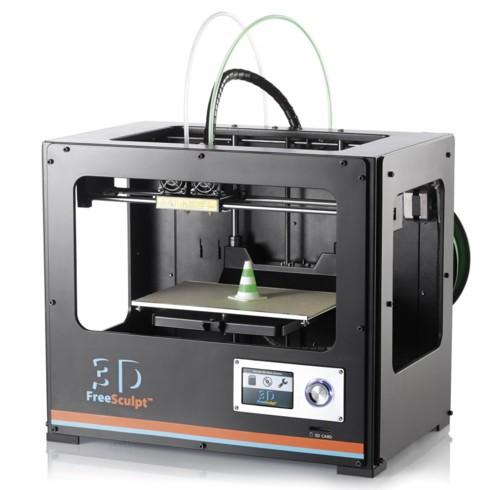 imprimante 3d double extrudeuse pas cher freesculpt. Black Bedroom Furniture Sets. Home Design Ideas