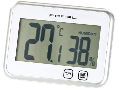 Thermomètre hygromètre électronique tactile