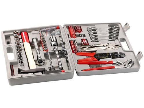 Valise à outils - 50 pièces spéciale ''Clés et douilles''