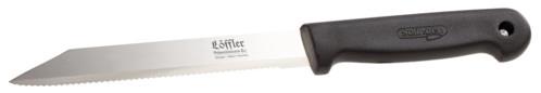 Couteau multiusage à lame dentelée 16 cm