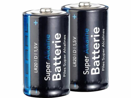 2 Piles super alcaline type D