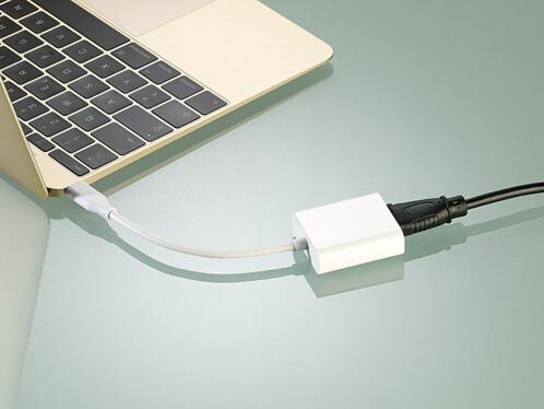 Adaptateur USB-C/HDMI pour Apple et Windows