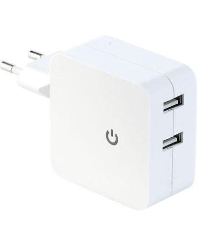 Chargeur secteur USB 2 x2,1A
