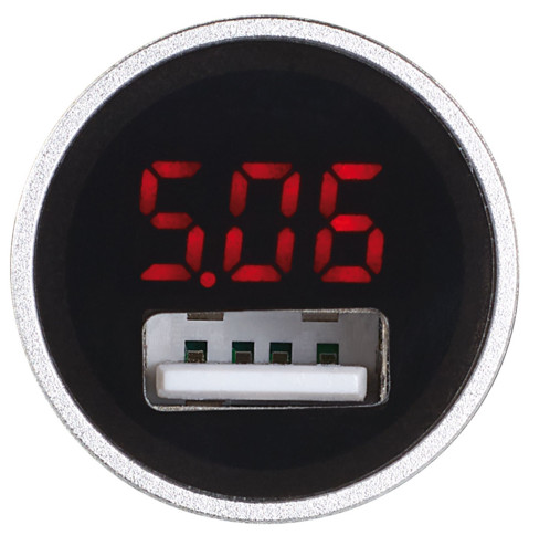 chargeur allume cigare usb en alu avec chargement ultra rapide. Black Bedroom Furniture Sets. Home Design Ideas