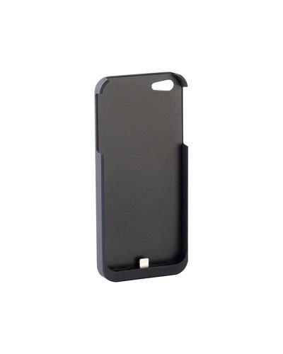 coque iphone 5 5s noire compatible chargement par induction qi. Black Bedroom Furniture Sets. Home Design Ideas