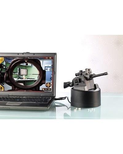 Fusil USB avec lunette de visée par webcam