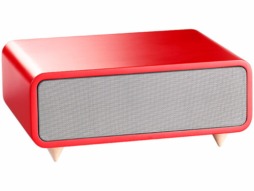 Haut-parleurs USB et bluetooth ''MSS-440.bt'' - Rouge