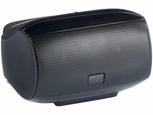 Mini haut-parleur avec bluetooth NFC et commandes tactiles