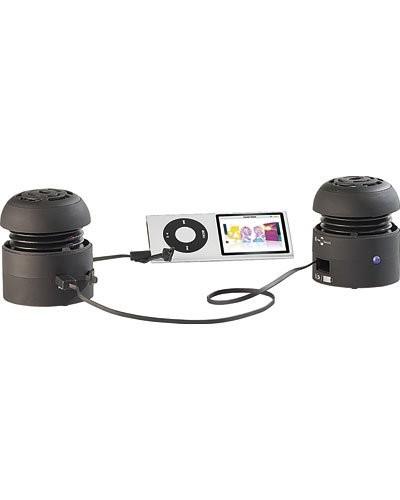 Mini haut-parleurs stéréo actifs ''Beat Can'' III