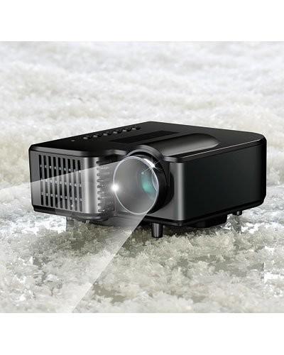 Mini Vidéoprojecteur avec lecteur média intégré ''LB-618''