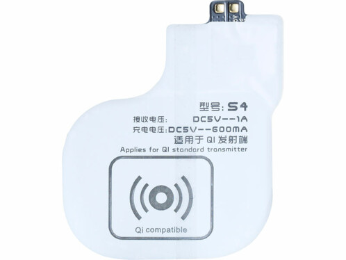 Patch compatible Qi pour Samsung Galaxy S4
