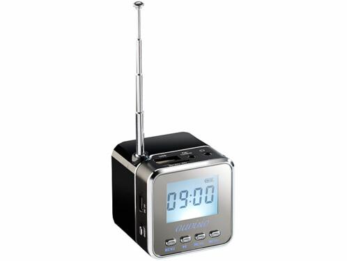 Station MP3 de poche MPS-550.Cube