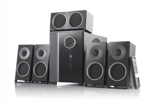 Système audio 5.1 Surround PCM avec entrée optique
