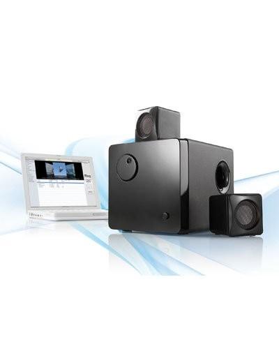 Système audio actif 2.1 USB et multimédia ''MSX-370''